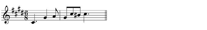Transpose down one octave, using the tenor clef
